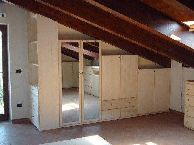 Camere sottotetto arredamento ip25 regardsdefemmes for Camere per single arredamento