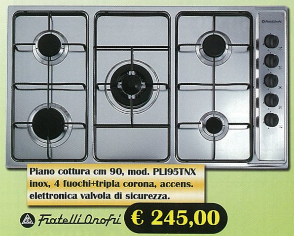 Elettrodomestici piani cottura onofri - Cucine fratelli onofri ...