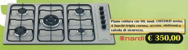 Elettrodomestici : Piani cottura Nardi