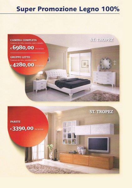 Arredamento completo offerta stilema 100 legno for Offerte arredamento completo casa