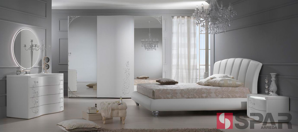 Camere da letto camera da letto spar c37 linea glamour - Camere da letto complete offerte ...