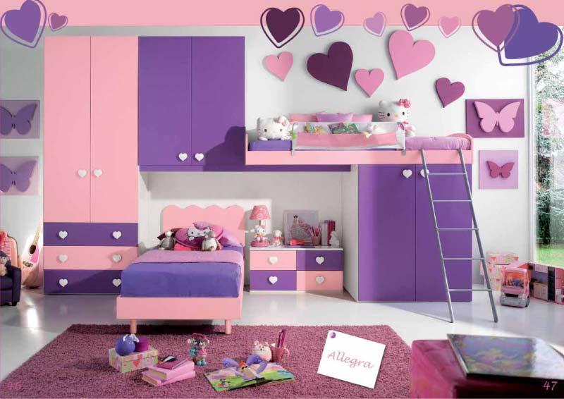 Camerette junior cameretta allegra - Ikea camerette ragazze ...