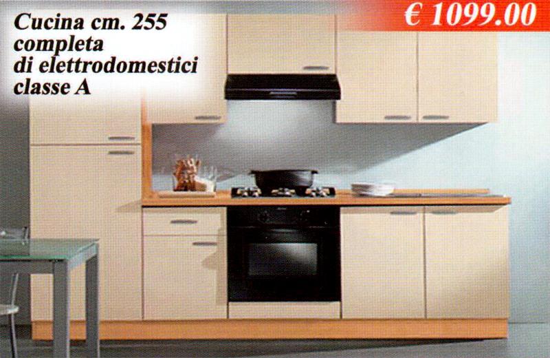 Cucine cucina 255 for Costo cucina completa