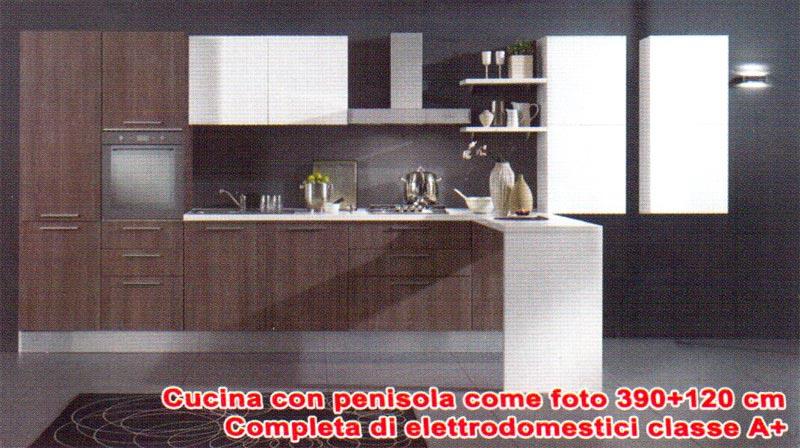Cucine cucina con penisola 390 for Costo cucina completa