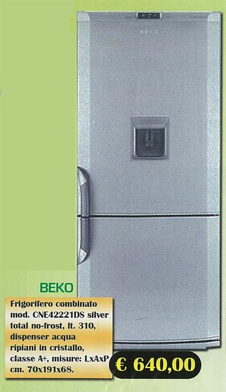 Elettrodomestici : Frigorifero Beko silver