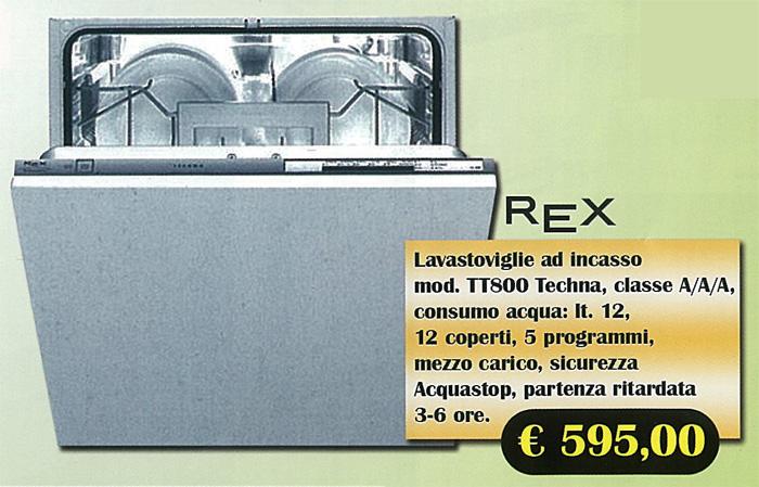 Elettrodomestici : Lavastoviglie REX